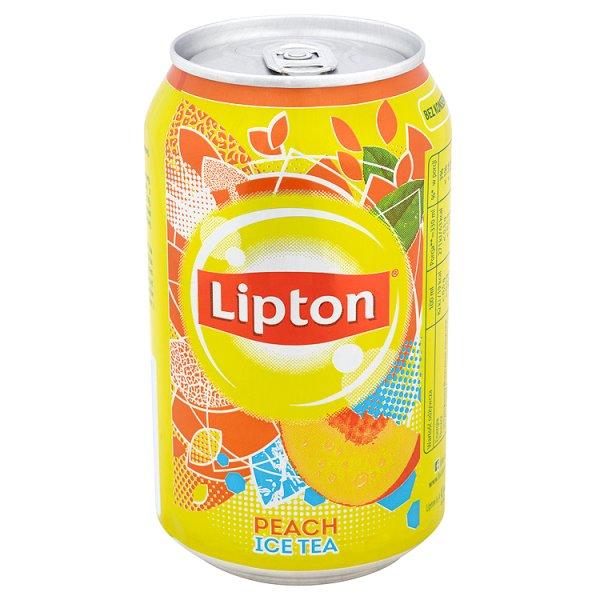 Чай Lipton персик 0,33л