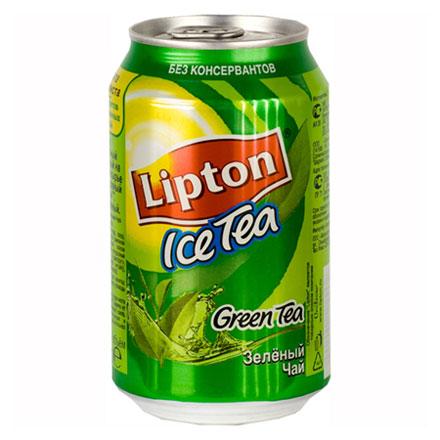 Чай Lipton зеленый 0,33л