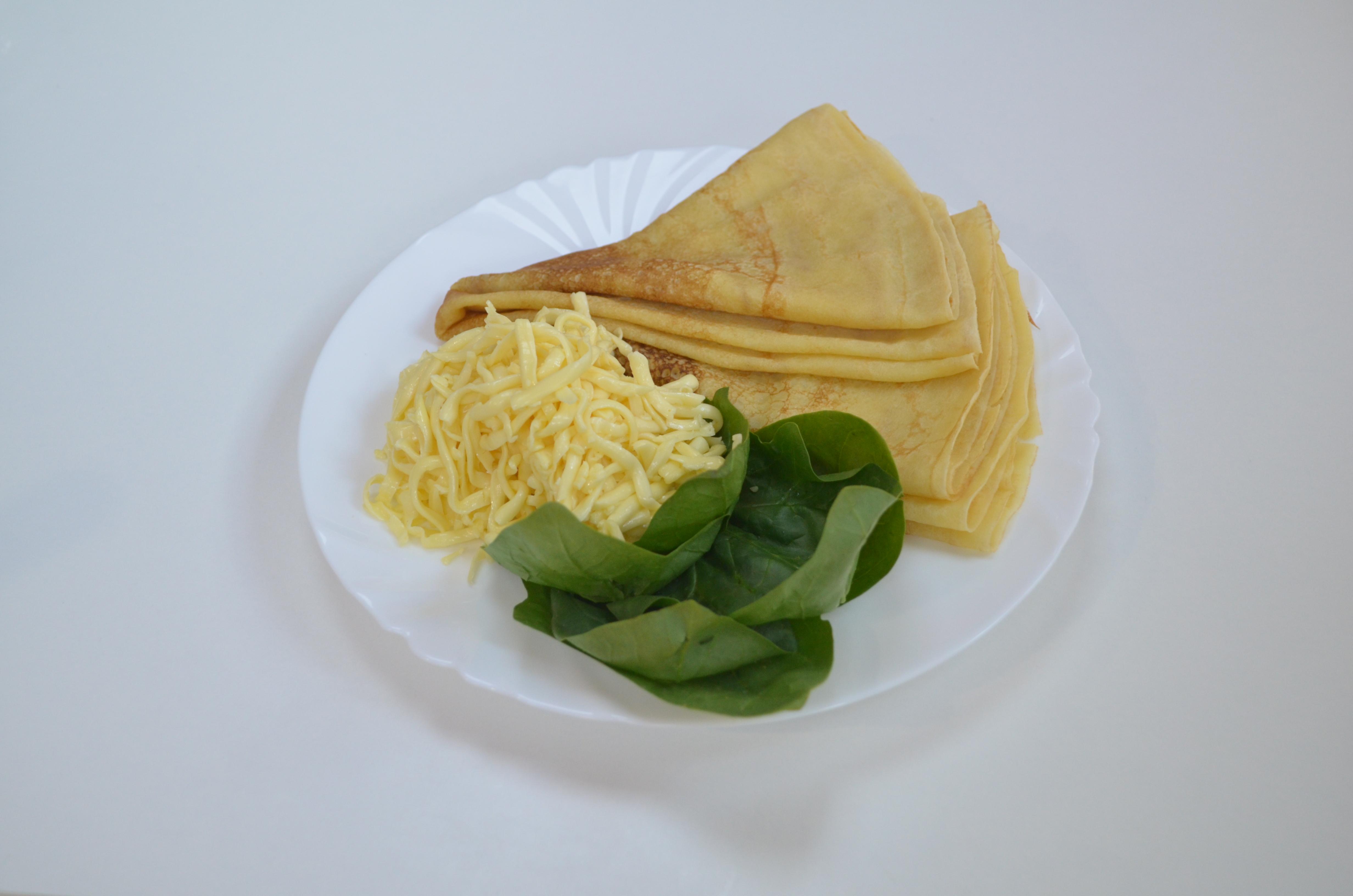 Сыр со шпинатом
